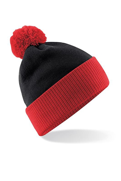 SNOWSTAR TWO TONE DUO BEANIE PIPO